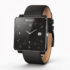 Sony SmartWatch 2 The World's First Waterproof Smart Watch with NFC