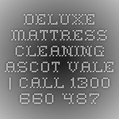 Deluxe Mattress Cleaning Ascot Vale | Call 1300 660 487
