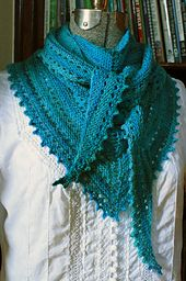 Ravelry: 3S Shawl pattern by Amy Meade