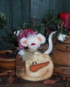 christmas prim patterns | Primitives by Folk Art Artist...Patti Sikes (Patti's Ratties)