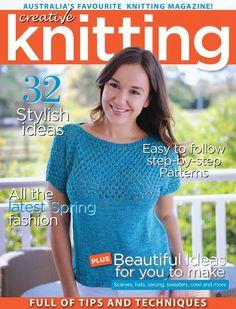 Creative Knitting №54 2016 - 轻描淡写 - 轻描淡写