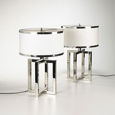 Design Donald Deskey Manufacturer Deskey-Vollmer, Inc. Deco Decor, Glass Lamp, Cool Lighting, Lamp, Modern Deco, Art Deco Lamps, Objects Design, Deco Furniture, Decorative Table Lamps