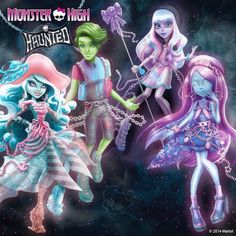 pictures of monster high haunted | Monster High: Haunted by Mattel - Accueil
