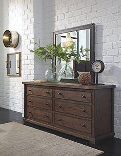 Zenfield Dresser and Mirror
