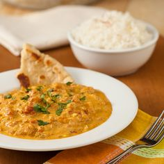 Chicken Tikka Masala - This recipe tastes just like what you get at the Indian restaurant!  I just pinned an awesome Naan recipe as well!  :)  We're having Indian food tonight!