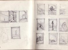 How to Keep a Sketchbook, Artist Study with thanks to Agostino Arrivabene, Resources for Art Students, CAPI ::: Create Art Portfolio Ideas at milliande.com , Inspiration for Art School Portfolio Work, Artist Sketchbook