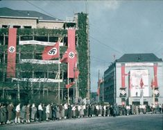 The Austrian election campaign in Linz, March 1938.