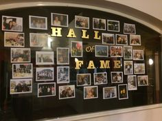 Hall of Fame photos- Party wall