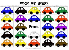Funner in the Summer: Road Trip Bingo from oopsey daisy | | Thirty Handmade DaysThirty Handmade Days