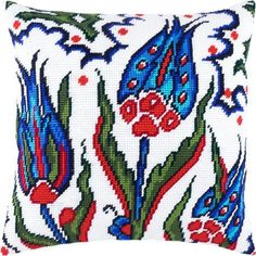 This Pin was discovered by Özl Cutwork Embroidery, Embroidery Patterns Free, Cross Stitch Embroidery, Cross Stitch Designs, Cross Stitch Patterns, Cross Stitch Pillow, Bead Loom Patterns, Loom Beading, Hobbies And Crafts
