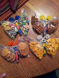 Healthy Creative school snacks