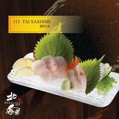 Tai Sashimi Sushi Love, Japanese Sushi, Sushi Art, New Menu, Bento Box, Sashimi, Chinese Food, Cheesecake, Food And Drink