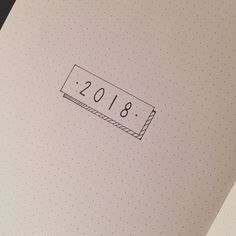 Bullet journal yearly cover page, minimalist bullet journal yearly cover page. | @theglittercrayon_art