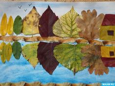 55 Best Ideas For Leaf Art Projects For Kids Autumn Fall Crafts For Toddlers, Toddler Crafts, Autumn Crafts, Nature Crafts, Leaf Projects, Art Projects, Art Floral, Dry Leaf Art, Art Et Nature