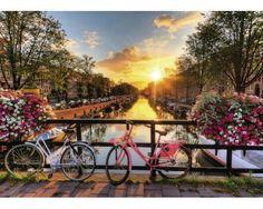 Puzzle Ravensburger Bicicletas de Amsterdam 1000 Piezas