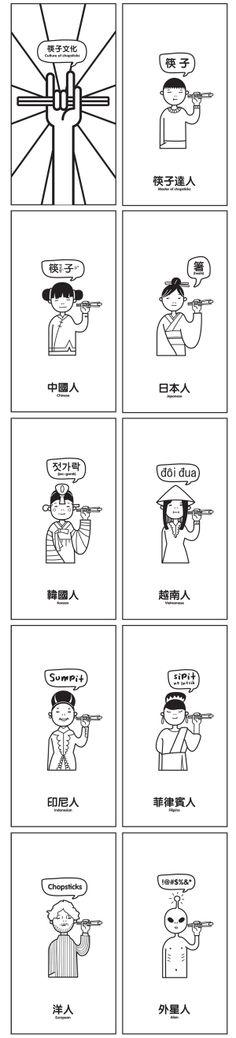 Become a chopsticks master -2