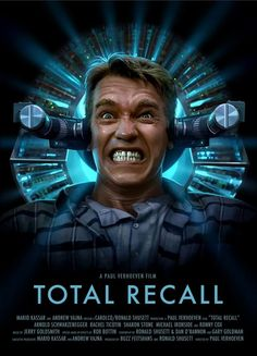 Total Recall awesome poster.