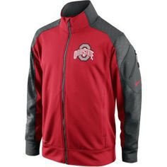 Ohio State Nike Youth Fly Speed Knit Jacket Knitted Jacket Mens 1a06fb31c