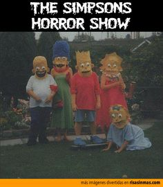 The Simpsons horror show.