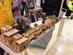 Buchmesse Teheran 2014: 3D-Puzzle mit historischen Gebäuden