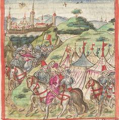 Meisterlin, Sigismundus / Mülich, Hektor: Augsburger Chronik -  SuStB Augsburg 2 Cod H 1 - 1457 -  Folio 111