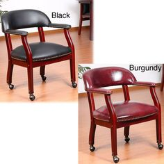 Formal Dining Chairs With Casters Used  Google Search  Dining Pleasing Dining Room Chairs On Wheels Design Ideas