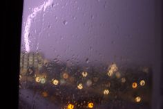 #dark #lightning #night #rain #window sill
