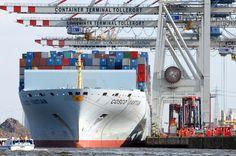 Foto ID 1402032 Containerschiff COSCO Yantin