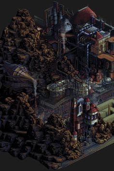 Steampunk Factory by Jalonso