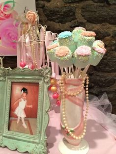 Sweet Ballerina Themed 1st Birthday Party with So Many Really Cute Ideas via Kara's Party Ideas KarasPartyIdeas.com #BalletParty #VintageBallerina #PartyIdeas #Supplies (53)