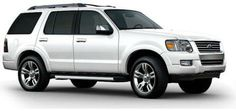 2010 Ford Explorer - Oxford White