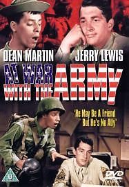 At War With The Army (DVD, 2004) Dean Martin, Polly Bergen One only call 01527523070 To Order