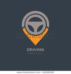 Find Steering Wheel Map Location Navigation Logo stock images in HD and millions of other royalty-free stock photos, illustrations and vectors in the Shutterstock collection. Car Logo Design, Design Cars, Cart Logo, Branding Course, Wheel Logo, Automotive Logo, Cafe Interior Design, Typography Logo, Letter Logo