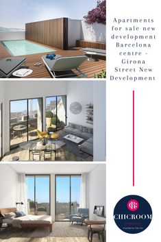 ChicRoom Properties is luxury real estate agency based in Barcelona offering exclusive apartments and houses for rent for mid and long term and for sale. Real Estate Agency, Luxury Real Estate, Apartments For Sale, Luxury Apartments, Four Rooms, Barcelona City, Unique Buildings, Penthouses, Light And Space