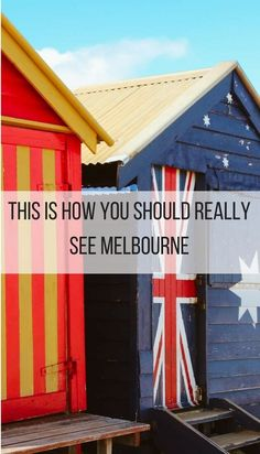 The best ways to really see Melbourne city, from above, from within, from the seaside. Explore fabulous Melbourne beaches, culinary hubs and the best hot-tub spots. |#Melbourne, #Australia, #Cityguide