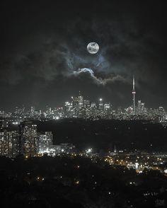17 dazzling photos of Toronto at night Toronto City, Toronto Canada, Toronto Skyline, Toronto Travel, City Lights At Night, Night City, Backpacking Canada, Canada Travel, Toronto Photography