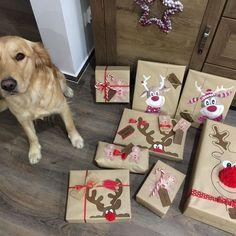 "8 To se mi líbí, 1 komentářů – Lucky the Golden (@luckygoldenretriever2018) na Instagramu: ""#giftforfriend #goldenretriever"" Gift Wrapping, Gifts, Instagram, Gift Wrapping Paper, Presents, Gifs, Gift Packaging, Present Wrapping, Wrapping Gifts"