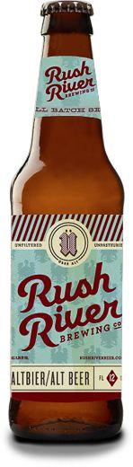 Rush River Brewing Co. Altbier Bottle