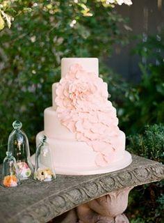 Pale rose de mariage