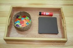 Teaching Montessori: with different basic shapes and colors, this could be pretty.I like the idea of a framed collage Montessori Baby, Montessori Trays, Montessori Education, Montessori Classroom, Montessori Materials, Montessori Activities, Toddler Activities, Preschool Activities, Montessori Elementary