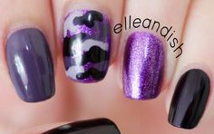 This is my first camo / camouflage nail look and I'm excited to do more of it in the future :D FYI, I was not paid to make this video; I volunteered to use J...