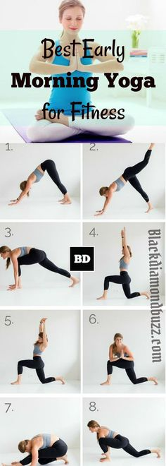 Best early morning yoga exercises for fitness. If you want to reduce risk to depression and stress you need to start doing yoga regularly. According to a new research published by American Psychological Association (APA), claimed that multi-week regimen of yoga exercises are effective at reducing symptoms of depression