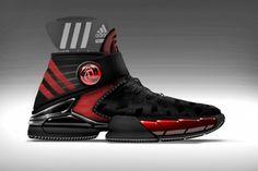 D ROSE 3.5 Adidas US 12 12 Schuhe NBA Chicago Bulls EUR