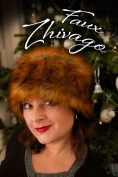 Make your own Zhivago-inspired fur hat: FREE pattern download | ooobop! | Bloglovin