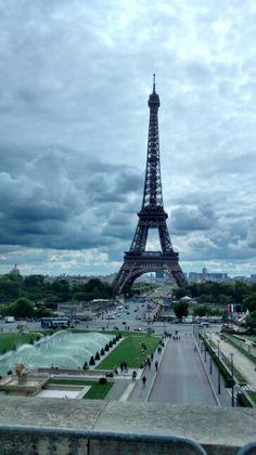 Não há tempo ruim em Paris! Sempre linda!