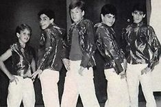 That time the New Kids on the Block had to pose like this and it just looked wrong. | 25 Boy Band Photo Shoots That Went Horribly Wrong