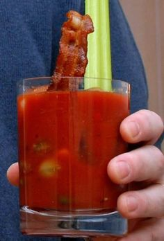 Best Bacon Bloody Mary recipe from Bensa, the bacon lovers' society
