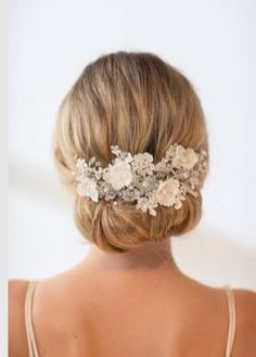 Such a pretty headpiece! I love the colors and style I think the size is gorgeous but personally I like your hair down more maybe half up/down but I like this