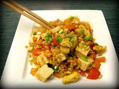 shrimp tofu fried rice
