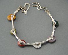 Pinned Pebbles Bracelet by MaggieJs on Etsy, $185.00
